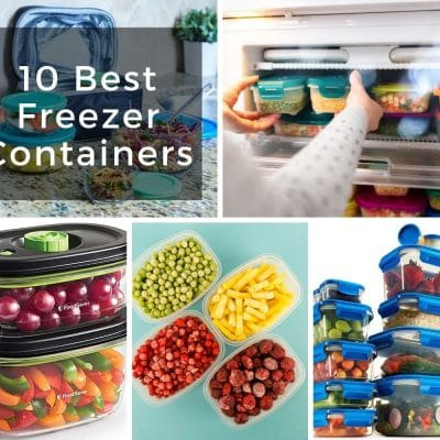 10 Best Freezer Containers