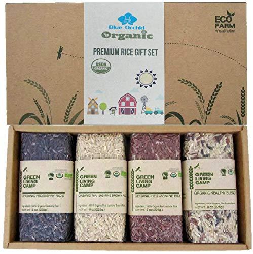 Organic Thai Jasmine Rice Gift Set