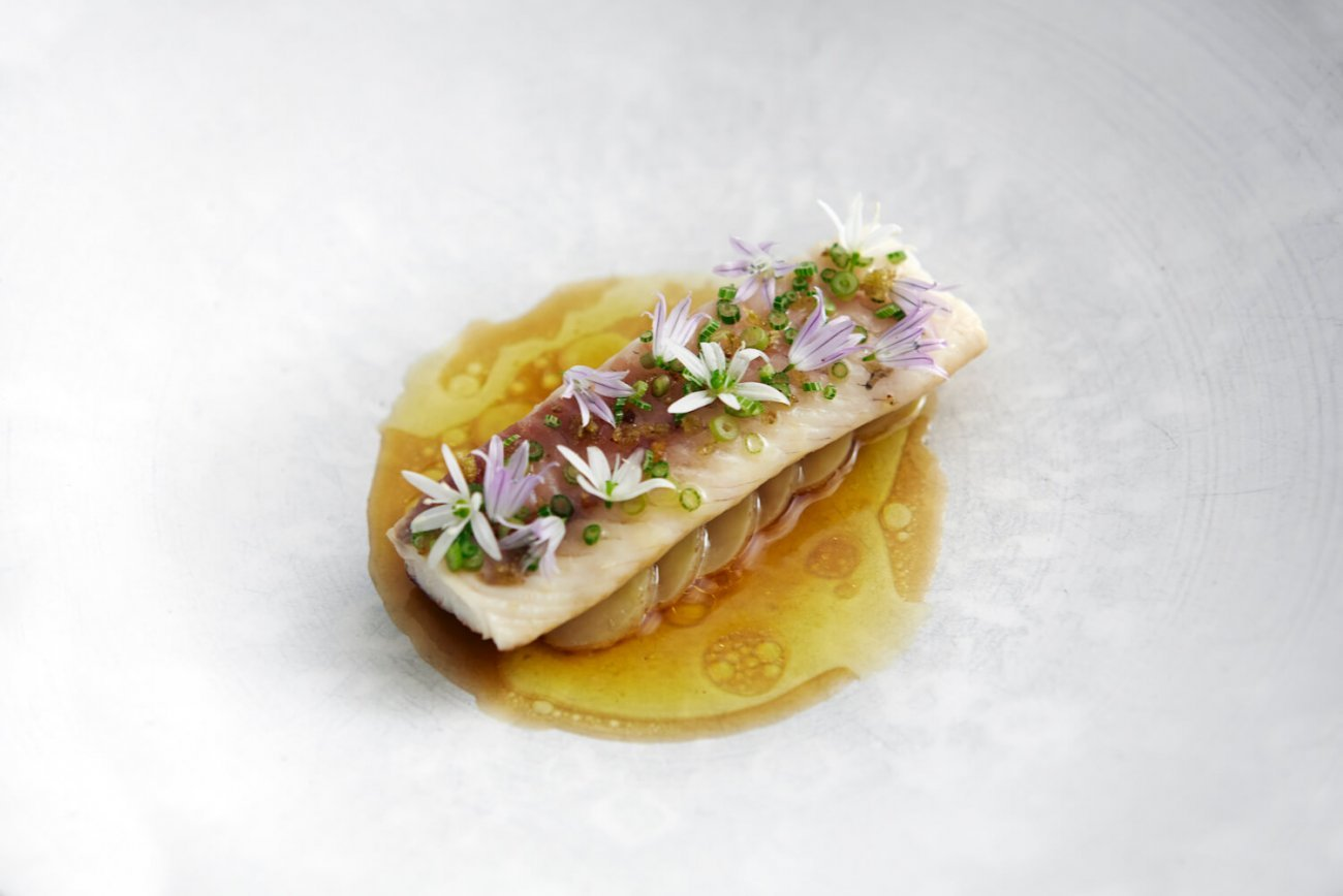 PERCH WITH SWEDISH FLAVORS