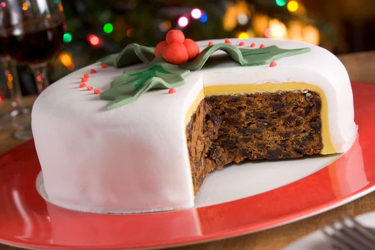 Helen's Christmas Cake Recipe