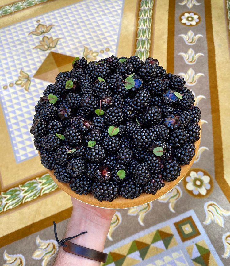 Black Berry Tart