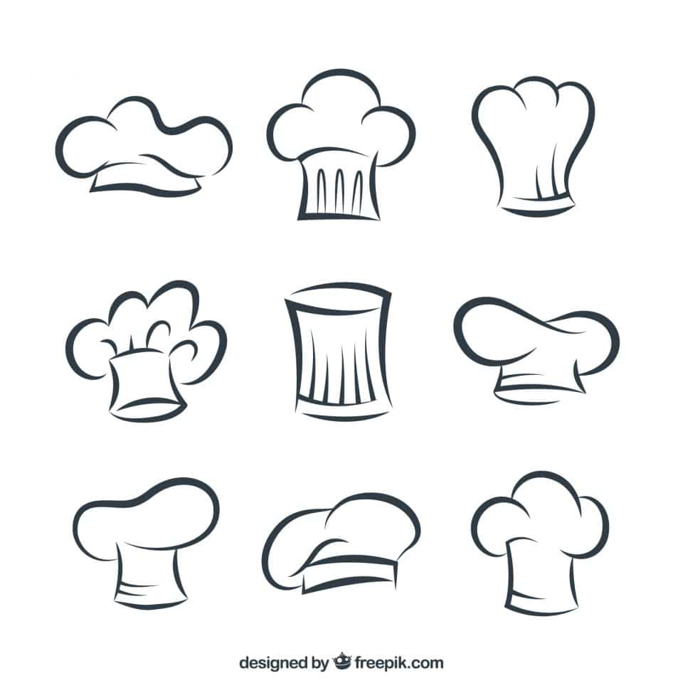 All kind of Chef`s hat