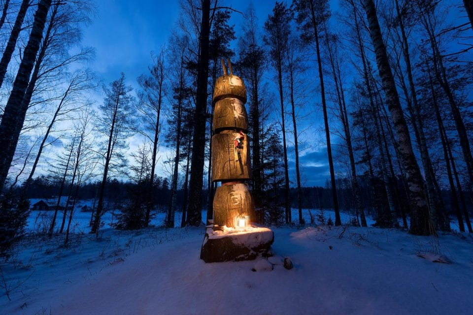 """Visiting """"God's Hill"""", a beautiful ancient sacred place ; Photo credit: https://www.visitestonia.com/"""