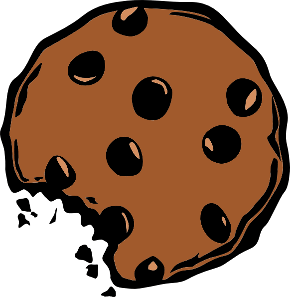 Choocolate cookie Clipart