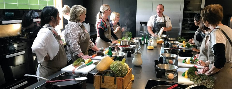 Learning at Georgie Bass Cafe & Cookery