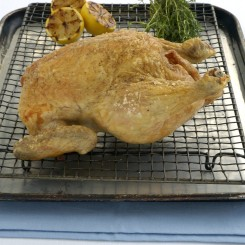 Lemon and Thyme Roasted Chicken