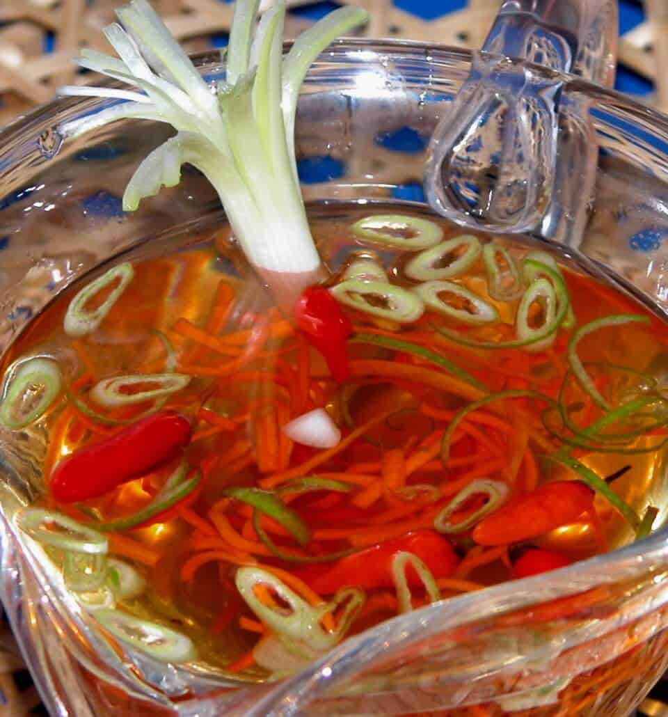 NOUC CHAM – SWEET AND HOT DIPPING SAUCE