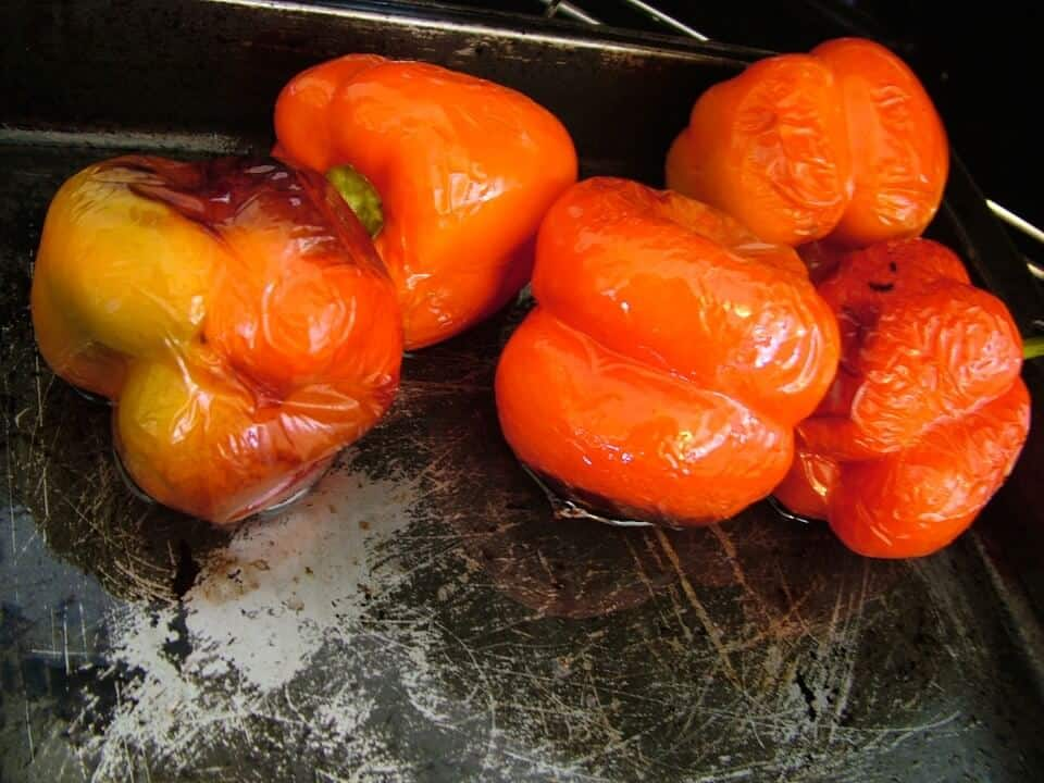 Grilled, BBQ and Roast Capsicum | How to Roast Capsicum