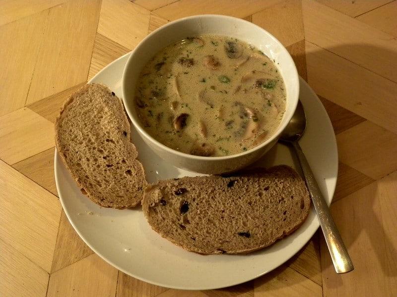 Mushroom Soup - Ciorba de Bureti