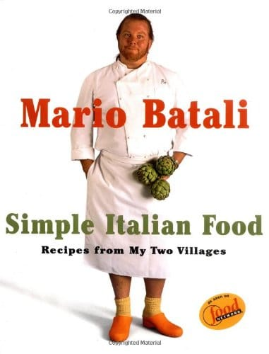 cover book with an Italian cook