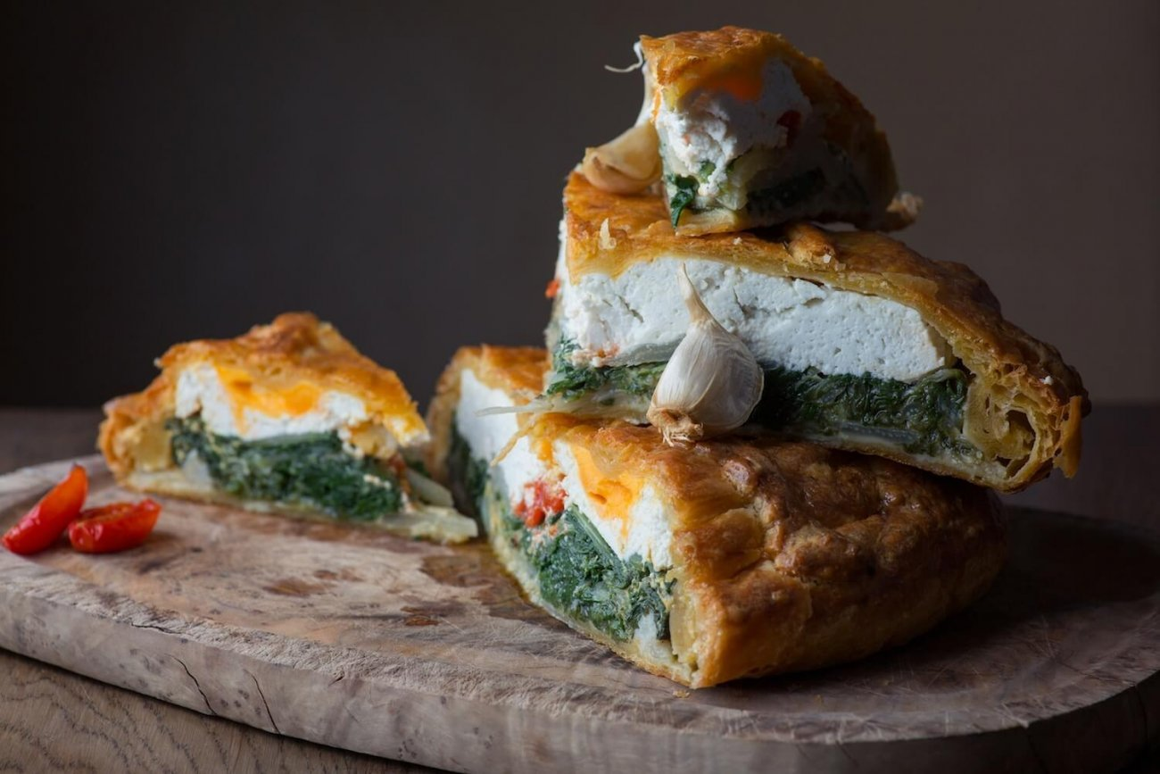 CARMELO CARNEVALE'S TORTA PASQUALINA WITH SWEET CHARDS AND RICOTTA