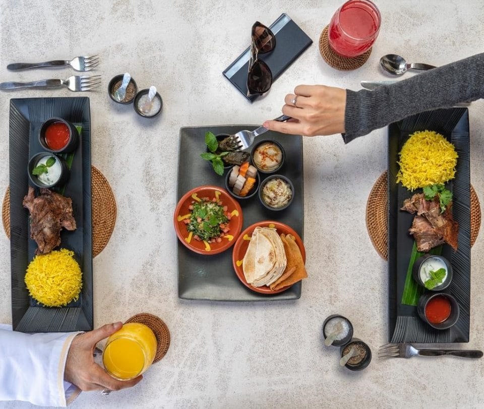 Food scene in Oman