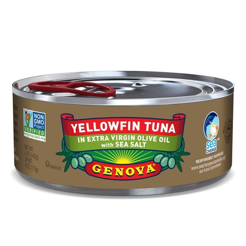 Genova Premium Yellowfin Tuna in Extra Virgin Olive Oil