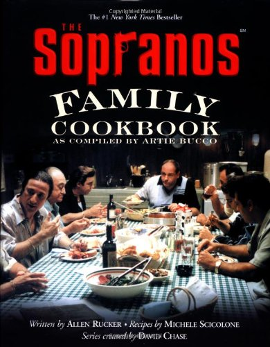 cover book with diner table surrounded by Italian men