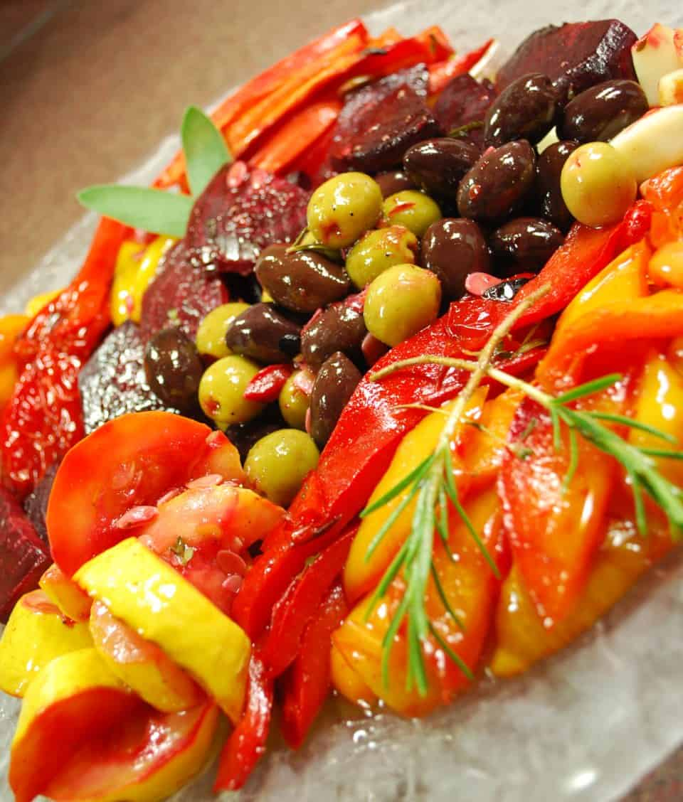 Image of Grilled Vegetable Escabeche, Chefs Pencil