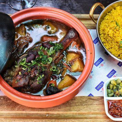 Lamb shank Tagine by Chef Wasim Shaikh of Kazbah