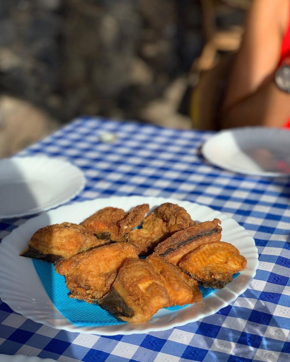 Moreia Frita (Fried Moray Eel)