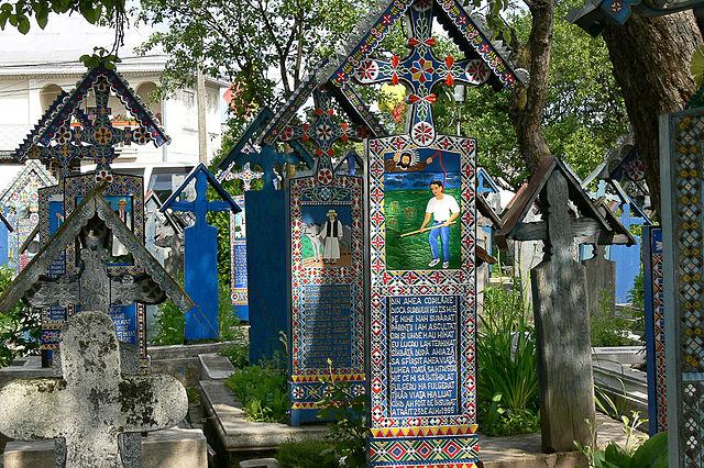 Merry Cemetery ; Photo credit: Adrian.Banu