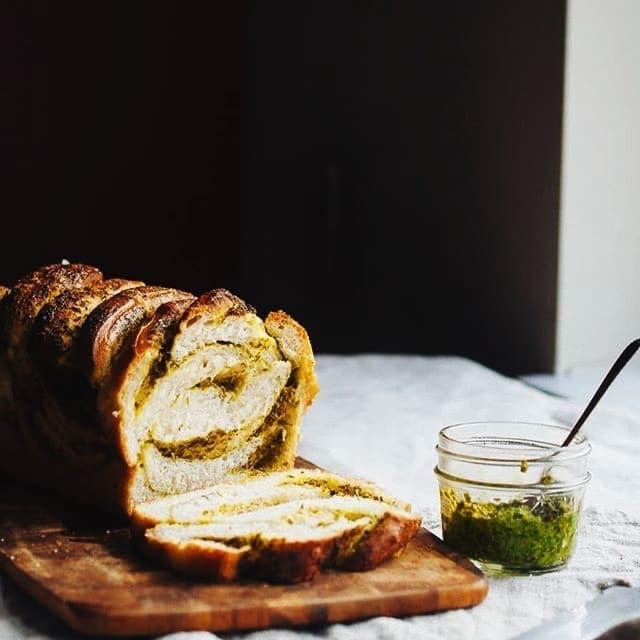 Herb & Parmezan Bread
