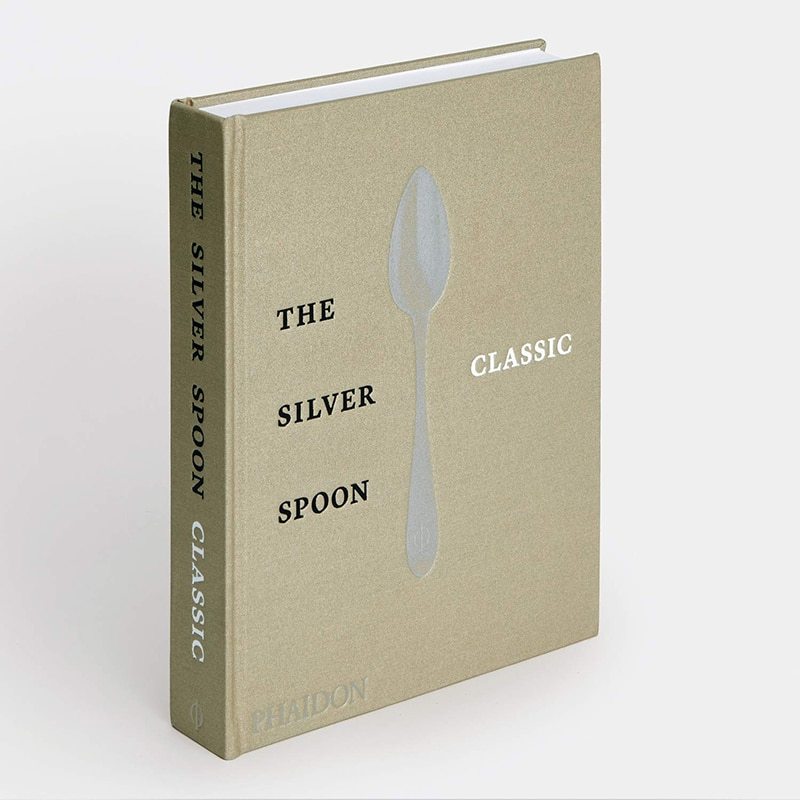 cover book with a spoon on it