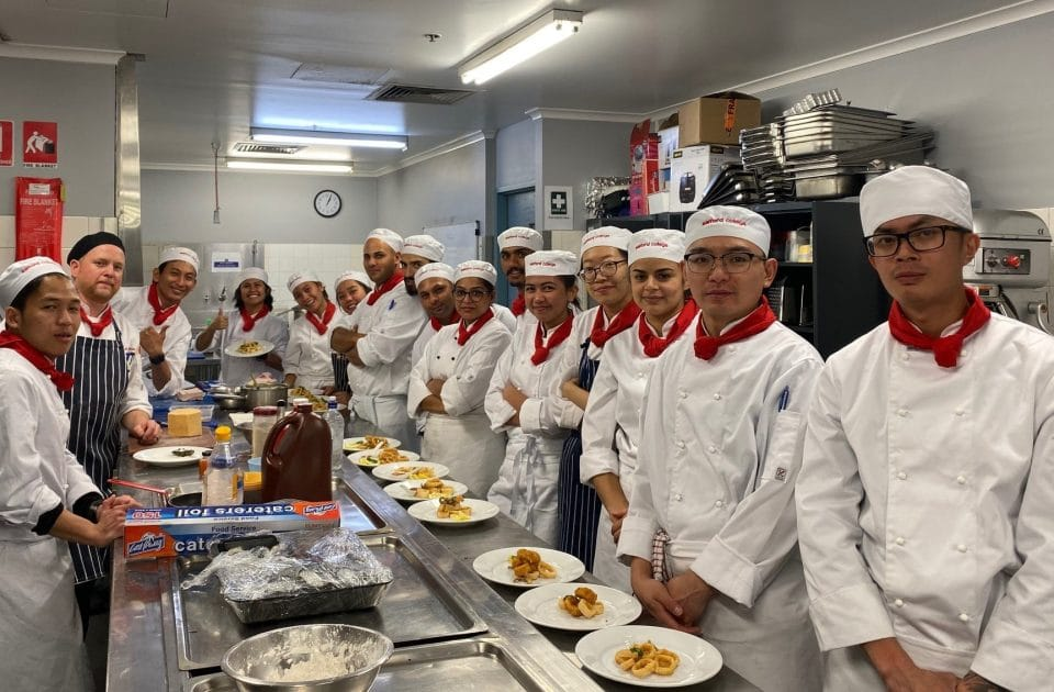 Cooking Classes at Salford College