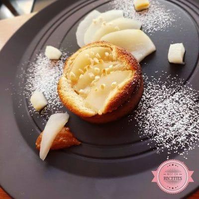 Pear Bourdaloue Tart