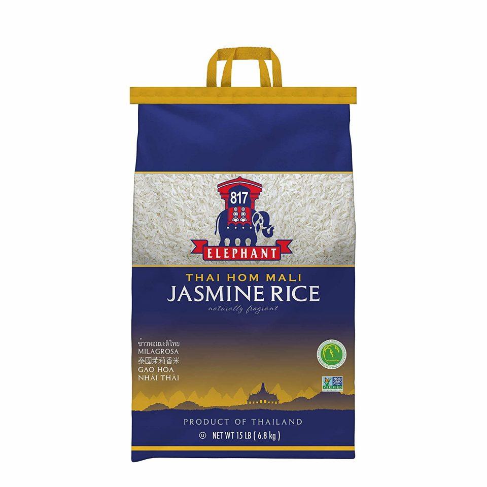 817 Elephant Jasmine Rice White Thai Hom Mali