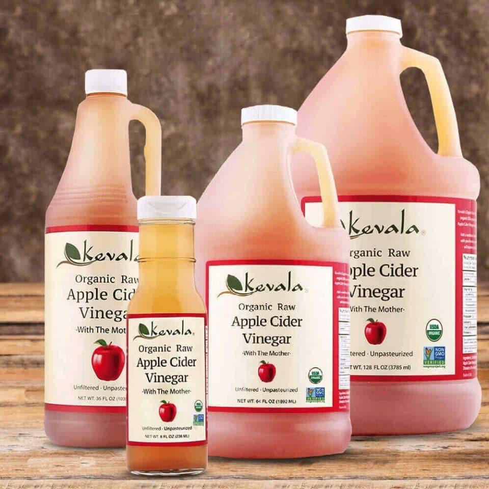 Kevala Organic Raw Apple Cider Vinegar