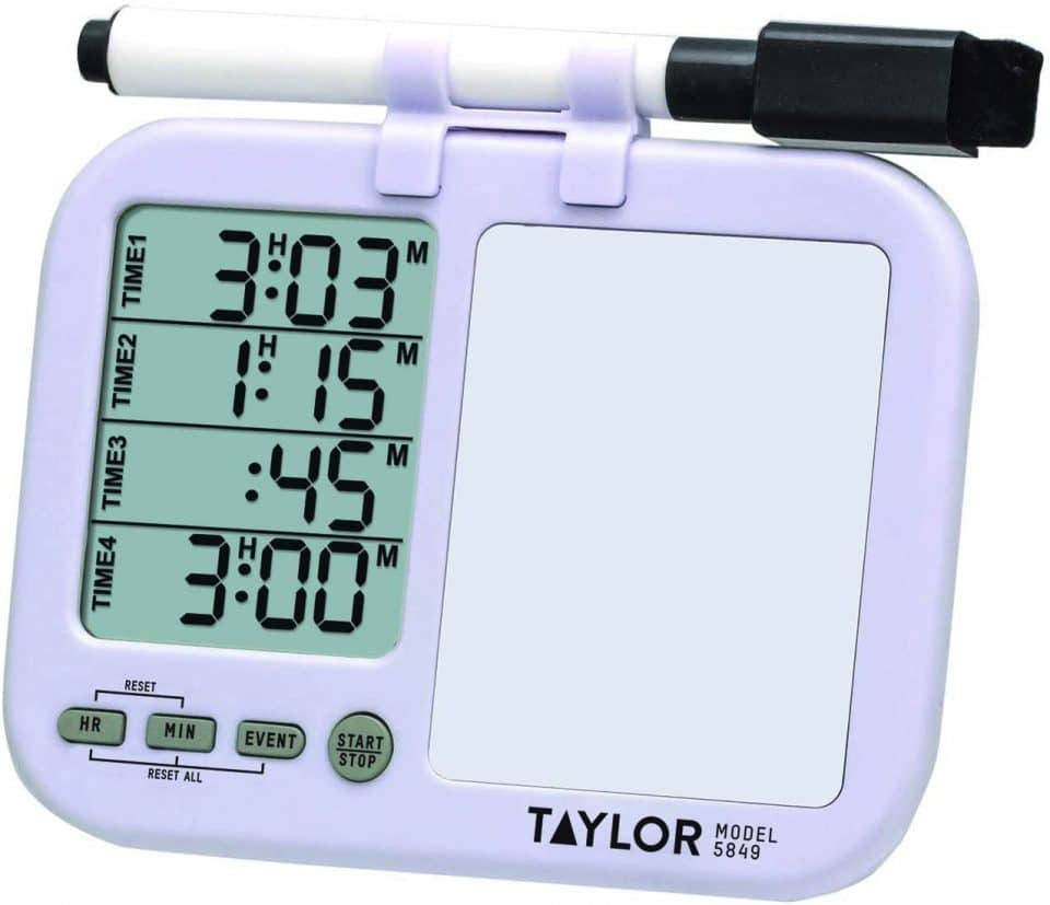 Taylor Precision Four Event Digital Timer