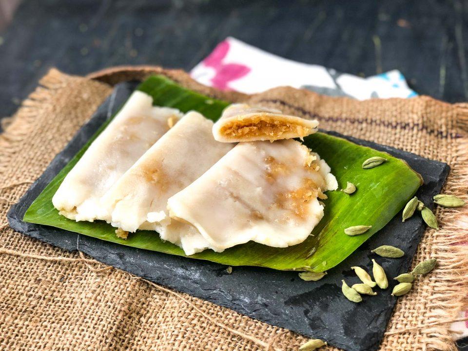 Ada (Steamed Rice Flour Parcel)