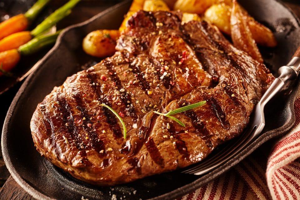 Grilled Rib-Eye Steak