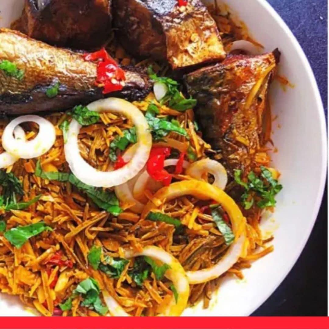 African Salad/Abacha and Ugba