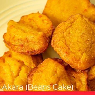 Akara Beans Cake