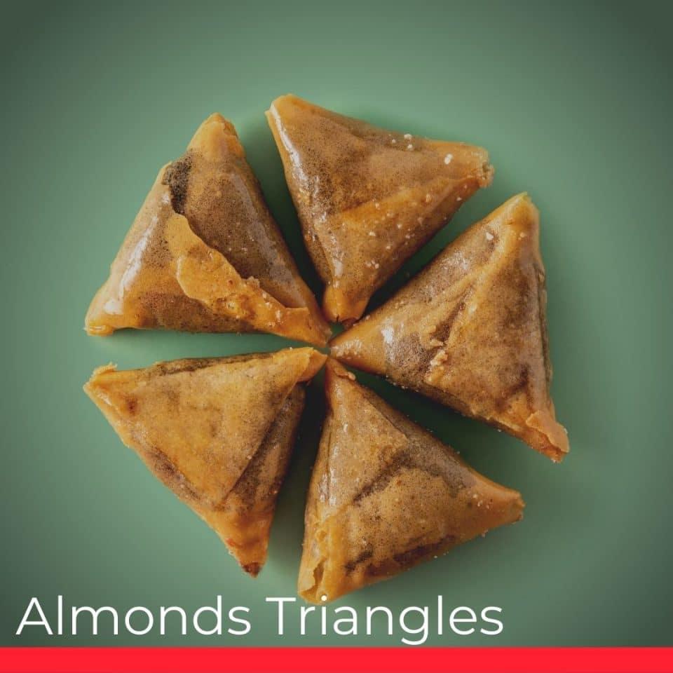 Almonds Triangles
