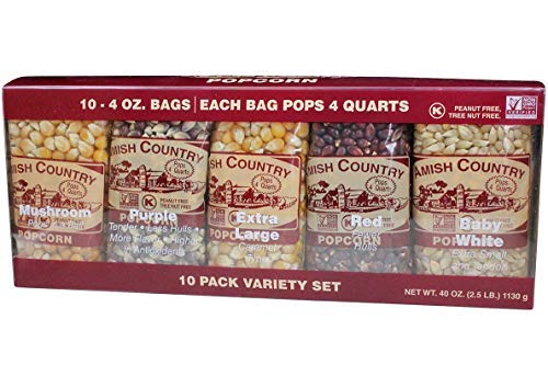 Amish Country Popcorn - 10 Pack Assorted Varieties