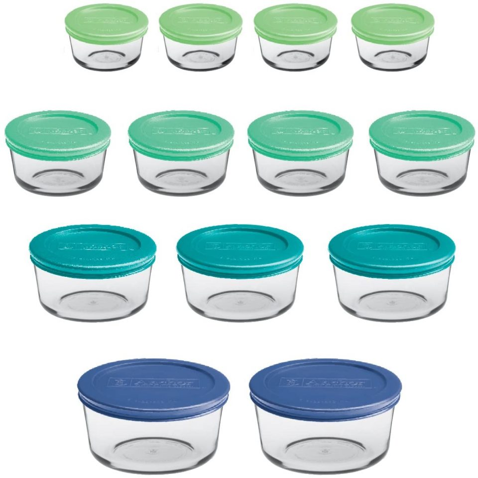Anchor Hocking Round Food Storage Containers