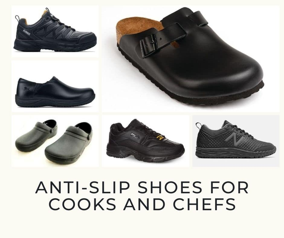 Anti-Slip Shoes for Cooks and Chefs