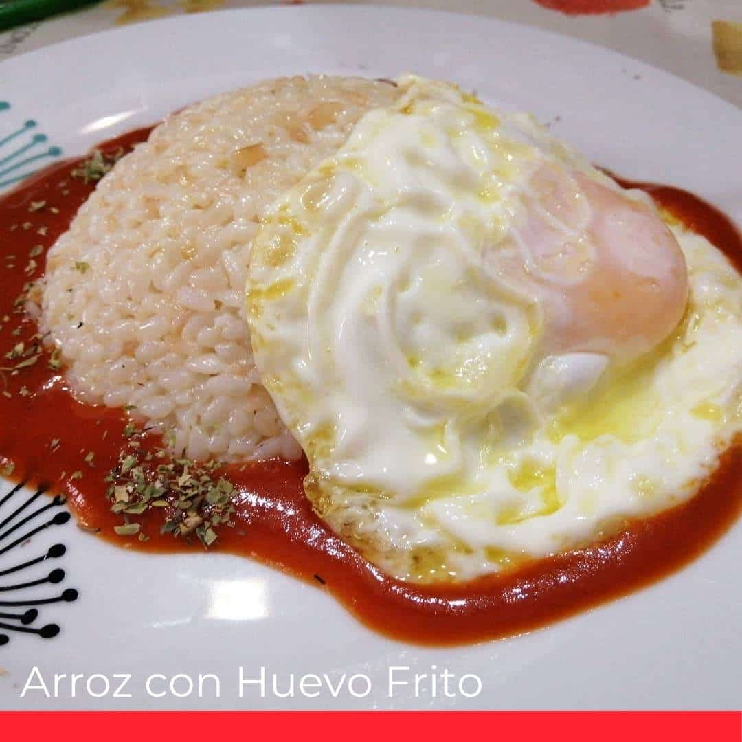 Arroz con Huevo Frito (Rice and Fried Egg)