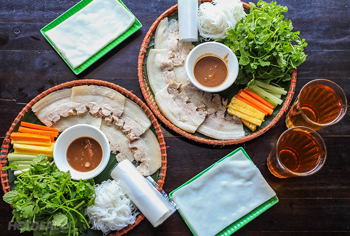 Banh Trang Cuon Thit Heo