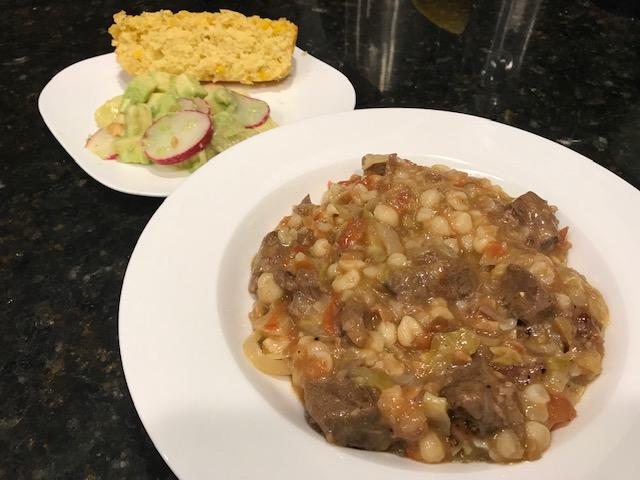 Mabhontjisi (Bean Stew)