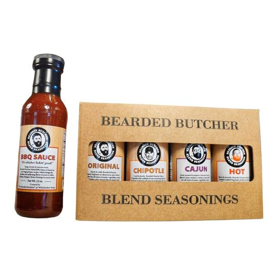 Bearded Butchers Blend Seasoning Variety Pack with Sauce