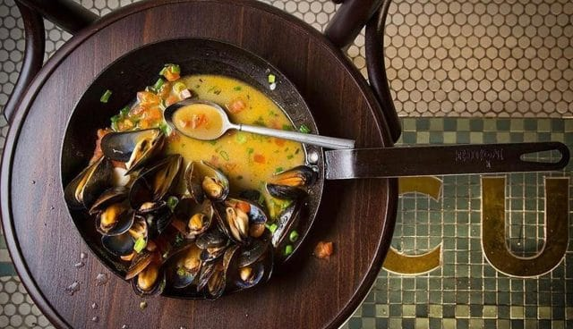 Beer Can Mussels