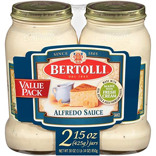 Bertolli Alfredo with Aged Parmesan Cheese Pasta Sauce