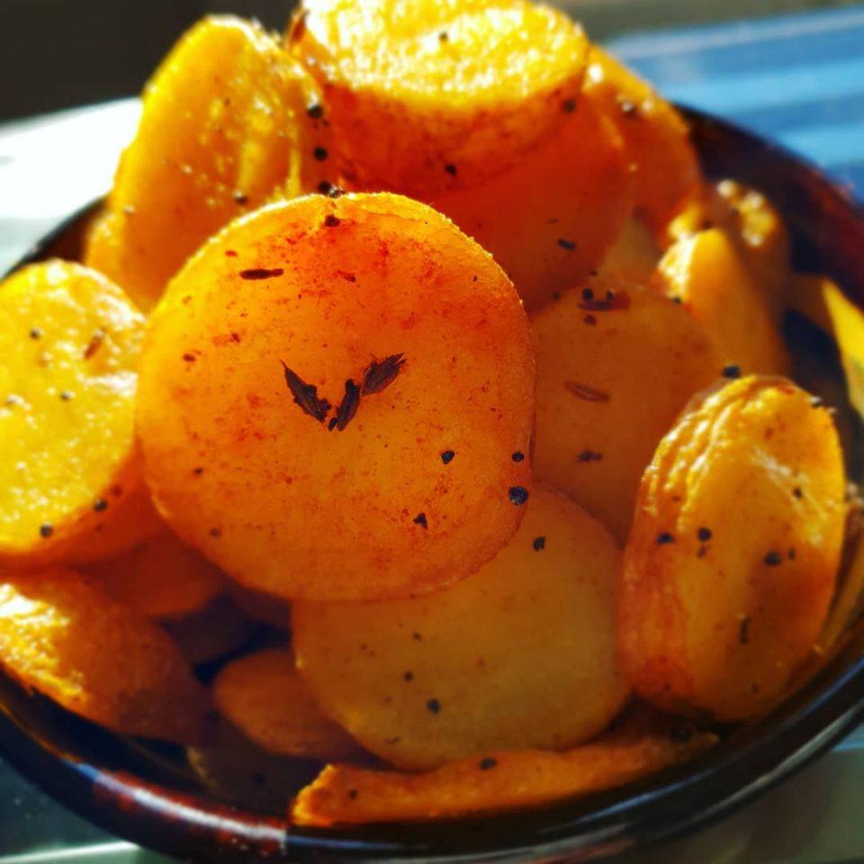 Bhatata (Sweet Potatoes)
