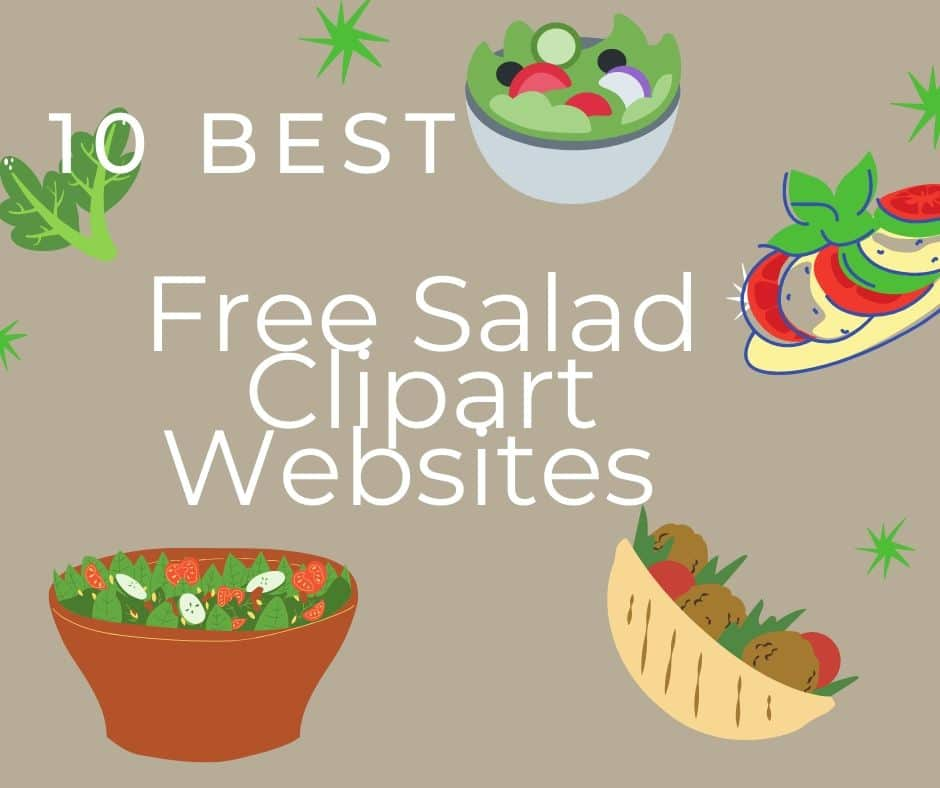 10 Best Free Salad Clipart Websites