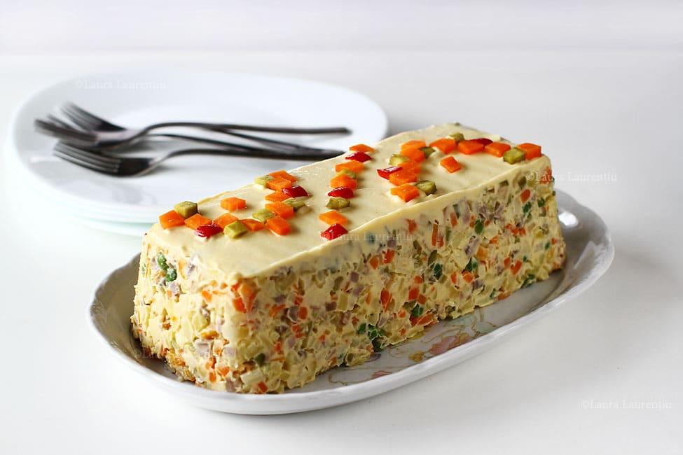 Romanian Beef Salad (Salata de Boeuf)