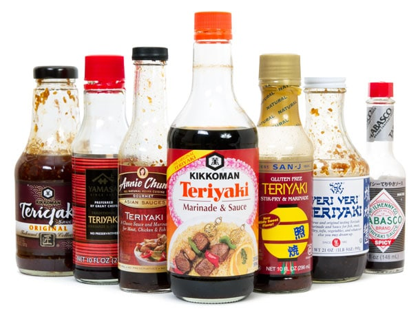 Bottle Teriyaki Sauce