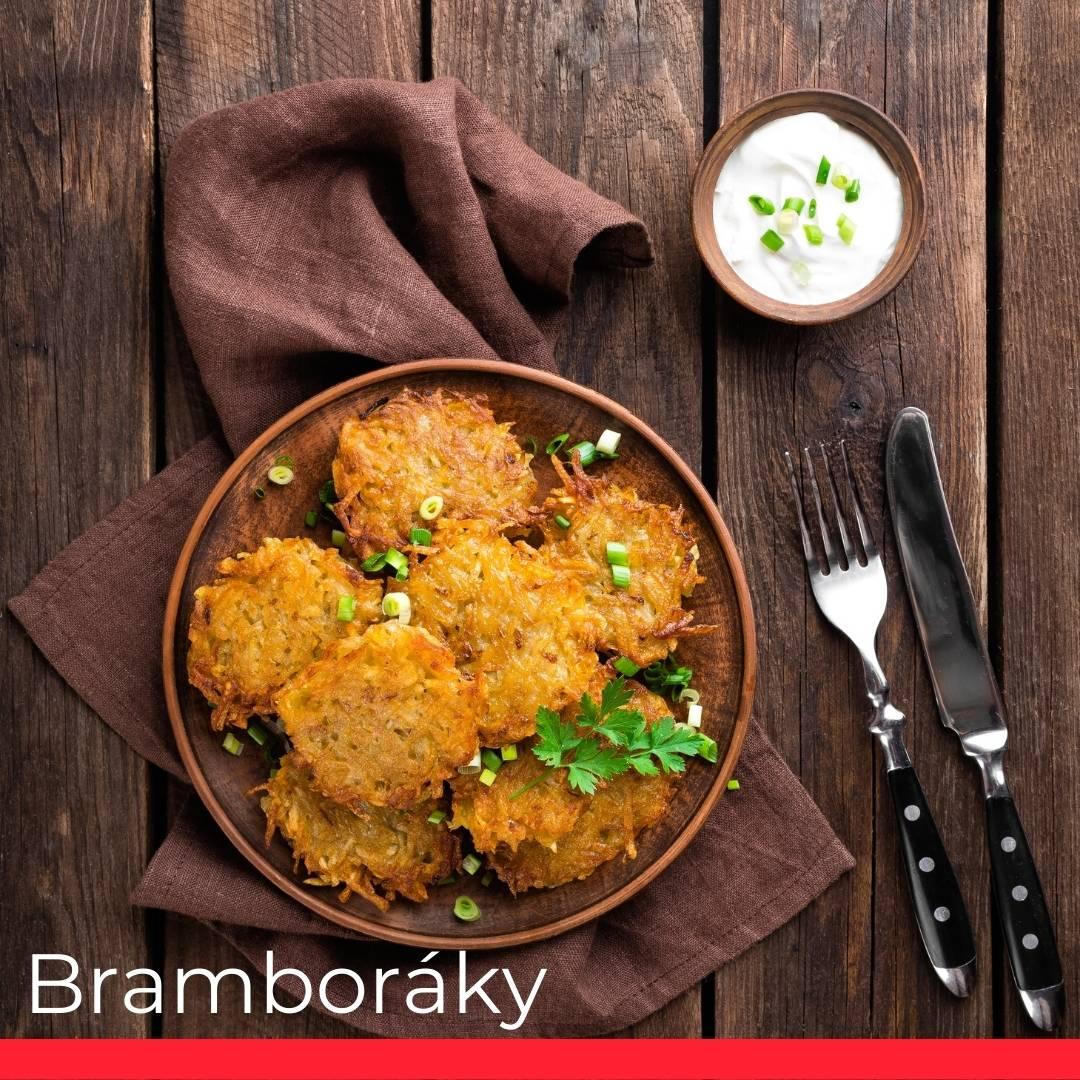 Bramboráky (Czech Potato Pancakes)