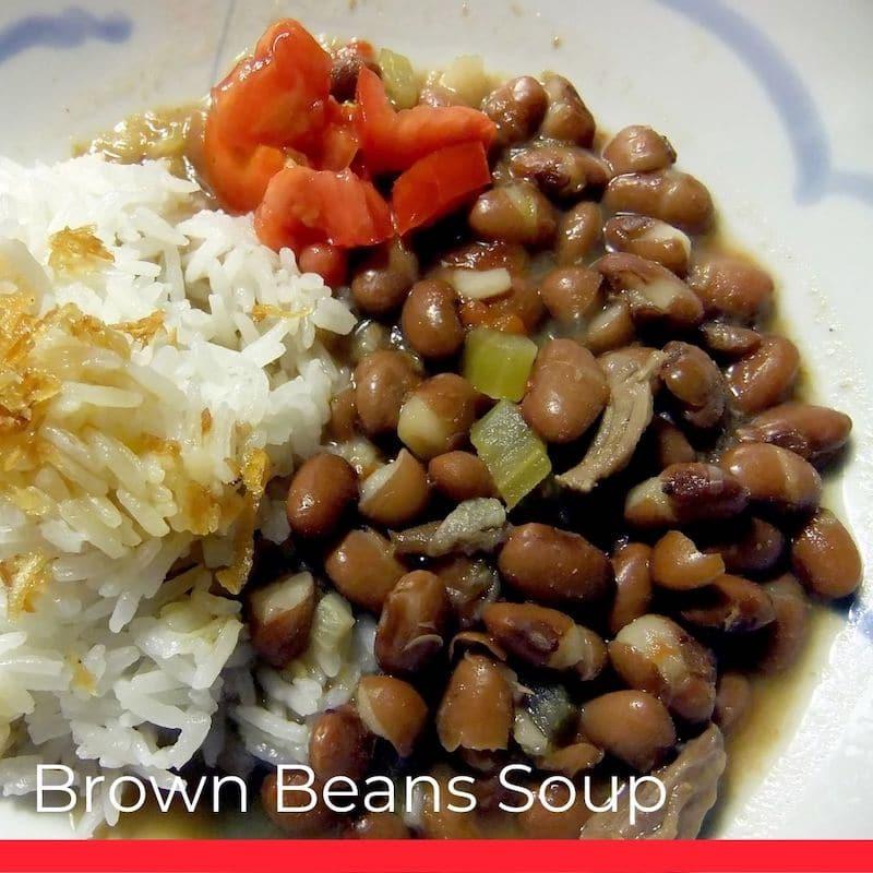 Brown Beans Soup