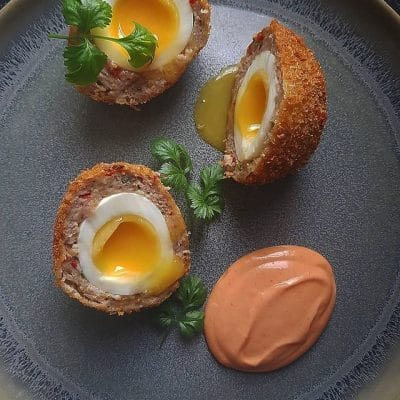 Turkey Scotch Eggs